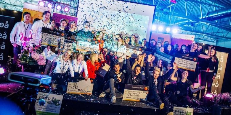 Ung företagsamhet mässa i Piteå